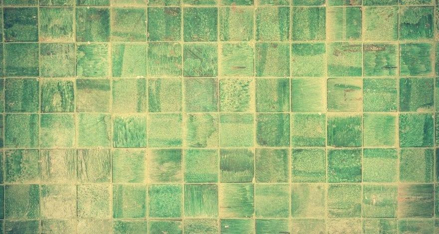 artistic tile backdrop